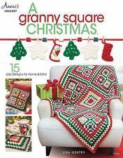 A Granny Square Christmas by Lisa Gentry (2016, Paperback)