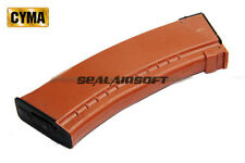 CYMA 500rd Hi-Cap Airsoft Toy Magazine For AK74 AEG CYMA-MAG-C25 Brown