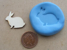 Reusable Rabbit Silicone Mould, Mold, Sugarcraft, Jewellery, Food Safe