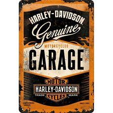 Harley Davidson GARAGE Blechschild 20x30 cm 22238