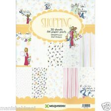 Shopping A4 Patterned Paper Pack scrapbook