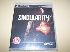Singularity PS3 **New & Sealed**