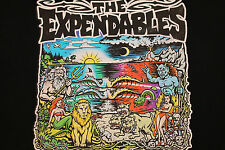 M * vtg 90s THE EXPANDABLES reggae ska punk surf t shirt * 31.56