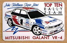 Mitsubishi Galant VR4 Rally Motorsport Sticker Decal