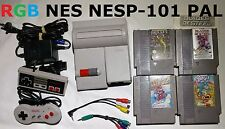 PAL Nintendo NES (NES2) top loader RGB output mod controllers games best picture