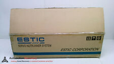 ESTIC TU040RC-S, AC SERVO NUT RUNNER TOOL UNIT, 200W,, NEW #219865