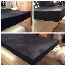 Made To Measure Mattresses For Horseboxes, Caravans With Fixed Waterproof Cover