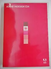 Adobe Indesign CS4 for Windows ID 2 DVDs Education Edition Serial Number