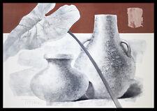 Titiano Water Games Poster Bild Kunstdruck mit Alu Rahmen in schwarz 70x100cm