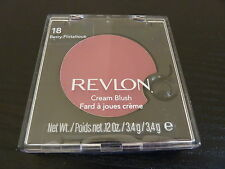 Revlon Cream (Creme) Blush - BERRY FLIRTATIOUS #18 - Brand New / Sealed