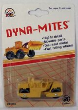 Zee Toys Dyna-Mites Road Roller MOC Construction Equipment Zylmex c.1993