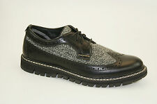 Timberland Britton Hill Leather and Harris Tweed® Fabric Oxford Gr. 41,5 US 8