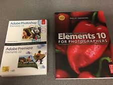 Adobe Photoshop Elements and Premiere Elements 10 + Elements Book/Manual