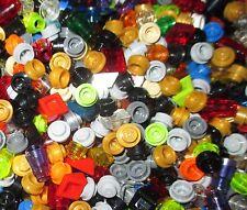 Lego 100 bunte 1er PLÄTTCHEN - FLIESEN - Schrägsteine - Kegel - Rundsteine