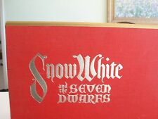 SNOW WHITE AND THE SEVEN DWARFS BOOK W/ LIMITED EDITION SERIGRAPHS
