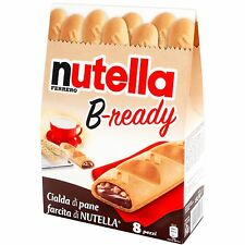 Ferrero NUTELLA B-ready Chocolate snack from ITALY -Shipping from Las Vegas NV