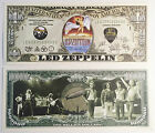 RARE: LED ZEPPELIN $1 Million Novelty Note, Music. Buy 5 Get one FREE