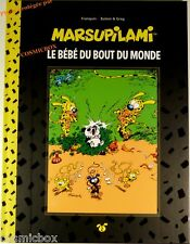 Tirage de luxe MARSUPILAMI Le BEBE du BOUT du MONDE bd dos toilé Franquin Batem