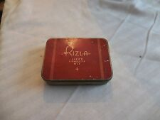 "Vintage Rizla Jiffy Cigarette Kit Tin 4 1/4"" x 3 1/4"" x 1"" Empty"