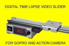 Digital Time lapse / Hand Slider for Video Camera GoPro Time Lapse 100 cm
