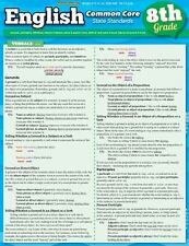 English Common Core 8Th Grade by Inc. BarCharts (2013, Book, Other)