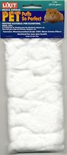 Lixit Pure Pet Puffs Cotton Nesting Material for Hamsters, Mice, Etc. 1oz
