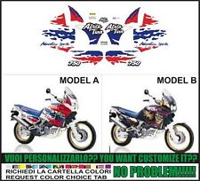 kit adesivi stickers compatibili xrv 750 rd 07 africa twin 1994