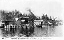 Photo. ca 1914. New Westminster, BC Canada. Waterfront