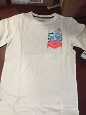 NWT Boys Child's Size X-L X-Large Hurley Shirt White  (#16)
