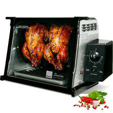 Ronco Showtime Stainless Steel Rotisserie Oven ~ Countertop Electric BBQ Cooker