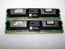 4GB Kingston 667MHz PC2-5300F Fully Buffered ECC Memory (FBDIMM), 2x 2GB