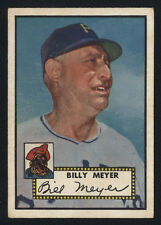 1952 TOPPS ~ #387 ~ BILLY MEYER ~ HIGH NUMBER
