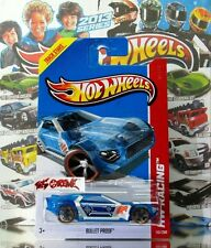 Hot Wheels 2013 #140 Bullet Proof™ TRANSPARENT BLUE,2ND COLOR,NEW CASTING,NICE!
