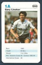 TOP TRUMPS-TODAY'S STRIKERS-1992- #1A-TOTTENHAM HOTSPUR & ENGLAND-GARY LINEKER