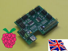 Rs-Pi I2C 32 Channel 12 bit PMW Servo Board for Raspberry Pi