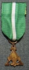 Boy Scouts of America Scouter's Training Award Metal Medal with Stange Hallmark