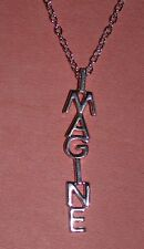 "Beatles John Lennon ""Imagine"" Pendant necklace w/18"" Chain"