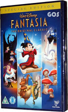 Fantasia Walt Disney Film Original Classic Childrens Movie DVD New Sealed