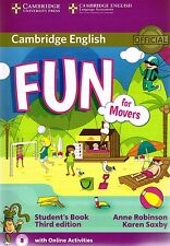 Cambridge English FUN FOR MOVERS Student's Book THIRD EDITION w ONLINE ACTVT New