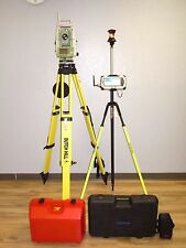"Leica TCRP1203 R100 Reflectorless Long Range BT Total Station 3"" Sec Gun 1203"