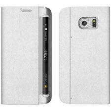 Custodia ZENUS cover vera pelle Minimal Diary per Samsung Galaxy S7 Edge G935F