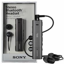 New Sony SBH54 NFC Stereo Bluetooth HD Voice Noise Cancellation Headset FM Radio