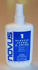 Novus Plastics Cleaner Shine & Smooth Plexiglass Polisher 237ml/8 Oz. Made In US