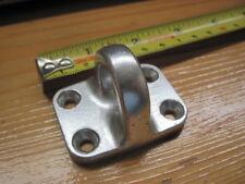 """VELA GOMMONE accessori (come foto) in LEGA Deck occhio circa 2"""" x 1 1/2"""""""