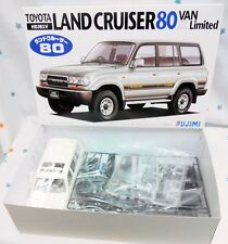 Fujimi 1/24 Toyota Land Cruiser 80Van VX Ltd.(HDJ81V) model kit