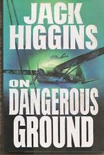 On Dangerous Ground, Jack Higgins, Good Condition, Book