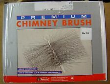 "8"" X 12"" Wire Chimney Brush- Imperial Made in Canada - New in Box"
