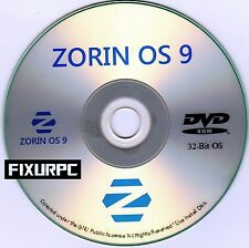 "ZORIN OS 9 in 32 bit, Replace Windows XP or Windows 7 also has ""START BUTTON"""