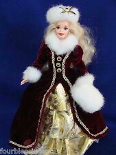 HAPPY HOLIDAYS 1996 BARBIE DOLL W. STAND-SPECIAL EDITION