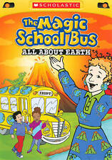 The Magic School Bus: All About Earth, Good DVD, Animated, Scholastic Video Coll